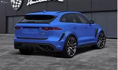 Lumma Design Makes The Jaguar F Pace A Widebody Cat