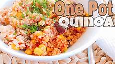 Pot Rezept - one pot quinoa rezept healthy gesund vegan vegetarisch
