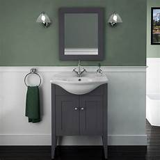 Grey Bathroom Mirror buy insolito carolla bathroom mirror charcoal grey uk