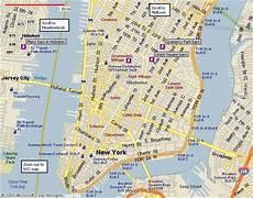 Stadtplan New York - new york city ny new york city lower manhattan map