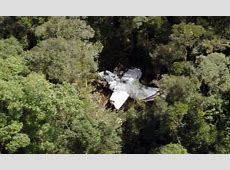 Jungle trek to find crash survivors after plane wreckage