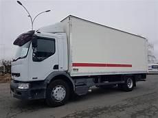 camion porteur renault premium caisse fourgon hayon