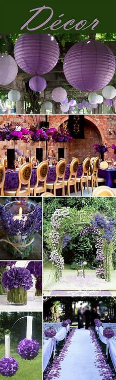 your wedding color purple and green are a combination for a spring or summer wedding