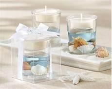 48 seashell gel beach ocean tealight candle bridal shower