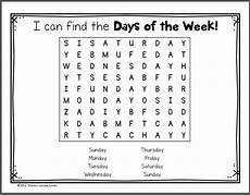 worksheets days of the week 18823 days of the week worksheets mamas learning corner