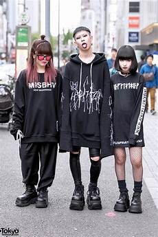 never mind the xu harajuku street styles w sub age hoodie misbhv demonia