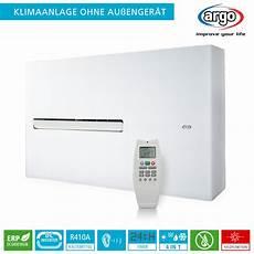 Klimageräte Ohne Abluftschlauch Und Aussengerät - argo dd dc inverter klimaanlage ohne au 223 enger 228 t 2 7 kw