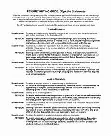 sle objective statement 7 documents in pdf word