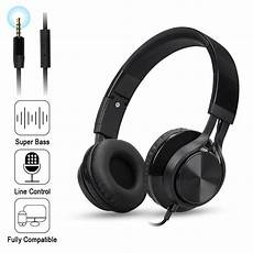 Foldable Gaming Headphone Wired Stereo by Folding Stereo Bass Headset 3 5mm Wired Earphone