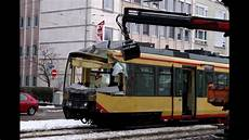 Stra 223 Enbahn Unfall Karlsruhe 14 1 2010