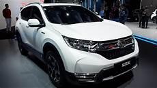 Honda Cr V Hybrid 2018 - the all new honda cr v hybrid prototype 2018 in detail