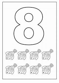 number 8 worksheets for children kids worksheets printable numbers preschool preschool