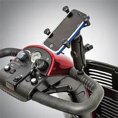 ram x 173 grip pride scooter cell phone holder