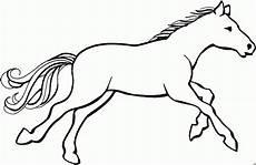 ausmalbilder tiere kostenlos pferde pferd im gallob ausmalbild malvorlage tiere mit