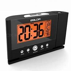 Digital Time Projector Snooze Alarm Clock by Baldr Digital Projection Clock Ceiling Wall Alarm Snooze