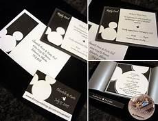 Mickey Mouse Wedding Invitations