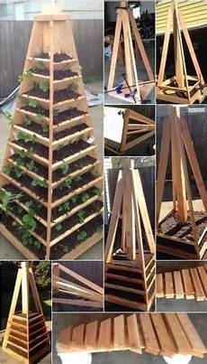 today in how to how to build a vertical garden pyramid