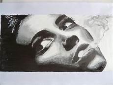 tableau visage noir et blanc tableau visage noir et blanc tableaux peints 224 la