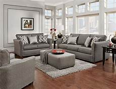 technique charcoal sofa and loveseat fabric living room