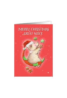 christmas cards for great niece from greeting card universe