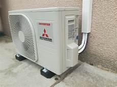 pose de climatisation unit 233 ext 233 rieure climatisation mitsubishi
