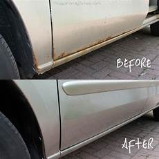 Auto Rost Entfernen - diy rust repair how to get rid of rust on your car