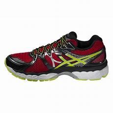asics mens gel nimbus 16 running shoes flash yellow