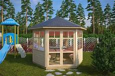 hexagonal summer house paradise s 6m 178 3 x 3 m 42mm