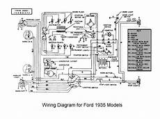 1935 Chevrolet Wiring Diagram by 1935 Ford Light Switch Technical Antique Automobile
