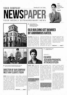 newspaper coloring pages printable 17707 a3 newspaper template newspaper template newspaper templates