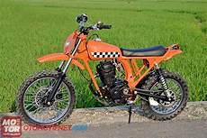 Cb Modif Trail by Gambar Modifikasi Motor Honda Cb Di Trail Ind Modified