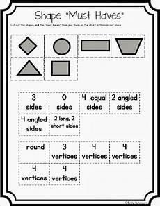 shapes attributes worksheets 1035 defining attributes of shapes math genius math foldables math geometry
