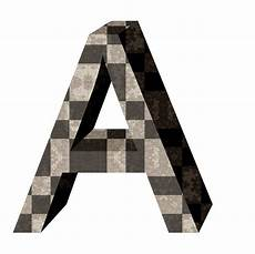 brown 3d letter a free stock photo domain pictures