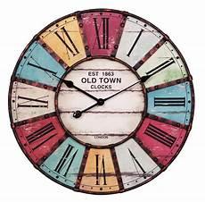 Horloge Murale Town 216 60 Cm D 233 Coration Pendules Et