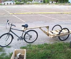 make a bike trailer for less than 10 5 steps with