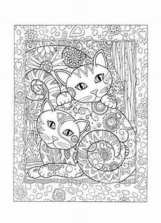 Ausmalbilder Katzen Erwachsene 51 Best Mandalas F 252 R Erwachsene Images By Ulrike D On