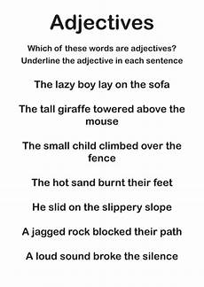adjectives worksheets by discophile teaching resources