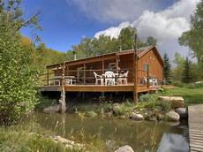 fishing cabins durango colorado riverside cabin waterfront vrbo
