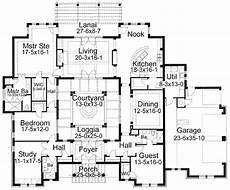 courtyard floor plans center courtyard courtyard house plans house