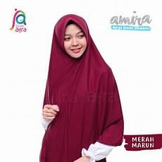 Model Jilbab Panjang Voal Motif