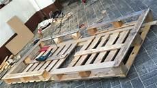 Einzelbett Selber Bauen - pallet bed single bed made from pallets pallet