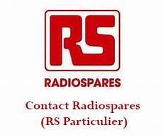 rs particuliers radiospares contact t 233 l 233 phone adresse mail et espace client