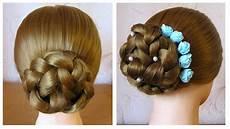 chignon tress 233 facile coiffure simple et rapide pour
