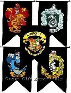 Malvorlagen Harry Potter Gryffindor Harry Potter 5 Banner Set Gryffindor Ravenclaw Hufflepuff