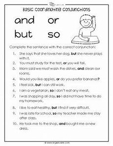 coordinating conjunctions worksheet by english unite resources tpt