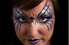 Make Up Ideen Hexe Eine Spinne Zwischen Den