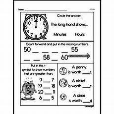 free printable money math worksheets for kindergarten 2686 kindergarten money math worksheets pennies edhelper