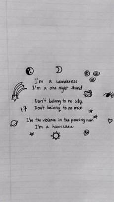 Malvorlagen Lyrics Grunge Doodles Zeichnungen