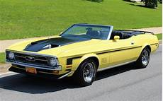 1971 ford mustang convertible for sale 77095 mcg