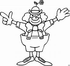clown malvorlagen gratis clown mit zu grosser hose ausmalbild malvorlage gemischt